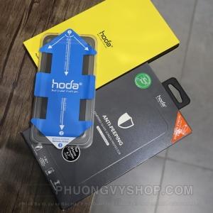 """Dán cường lực iPhone 12 Pro 6.1"""" - Hoda Anti-Peeping 2in1 (chống nhìn trộm và chống vân tay)"""
